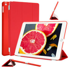 For Apple iPad Magnetic Smart Cover Translucent Frosted Back Hard Shell Case