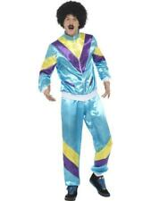 Mens 80s Height of Fashion Chav Shell Suit Fancy Dress Costume 39298