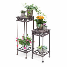 Flower Stand Square Plant Table Plant Stand Flower Pot Holder Side Table