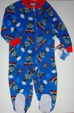 THOMAS THE TRAIN Toddler Boys 2T 3T 4T Footed Pajamas BLANKET SLEEPER Pjs