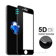 5D Tempered Glass Screen Curved Edge Protector for iPhone 8 Plus,Front+Back