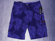 NWT Boys Blue Belted Ripstop Cargo Shorts by US Polo Assn - U Pick Size - $36