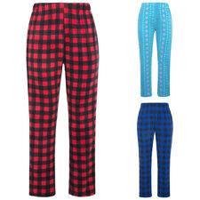 New Women's Soft  Flannel Pajama Lounge Long Pants Trousers Sleepwear Nightwear