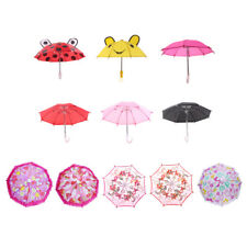 "Fashion Flower Heart Print Umbrella for 18"" American Girl Doll Clothes Accessory"