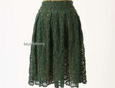 NEW Anthropologie Tuberose Lace Skirt by Moulinette Soeurs  Size 0