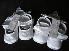"Baby ""My Special Day"" White Satin Christening,Pram Shoes,Boots 0-12 months"
