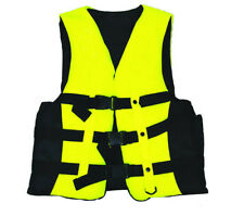 Polyester Adult Life Jacket Universal Swimming Boating Ski Vest+Whistle Best BH