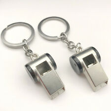 NEW Whistle Metal Key Chain Car Logo Keyring Pendant Ring Accessories Keychain