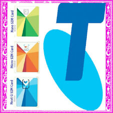 Telstra ◉$10 Credit Prepaid SIM CARD◉Calls Texts & Net ◉Full Regular Micro Nano◉