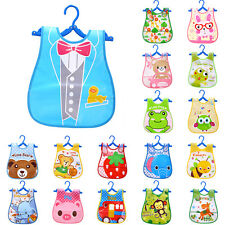 Baby Boy Girl Kids Bibs Waterproof Saliva Towel Cartoon Bib Feeding Bandana Cute