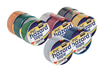 PVC Hazard Insulation Electrical Tape Roll Self Adhesive Floor Warehouse 48 mm