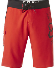 NWT Fox Racing Men's 360 Solid Boardshorts - Red