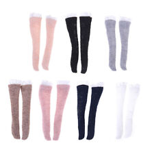 1 Pair Lace Socks Mixed Style Long Stockings For Barbie Doll Accessories BH