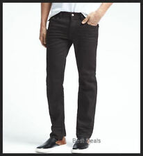 BANANA REPUBLIC MENS $89.50 VINTAGE STRAIGHT FIT BLACK Jeans BRAND NEW 303840