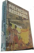 POLYNESIAN RESEARCHES HAWAII By William Ellis - Hardcover **BRAND NEW**