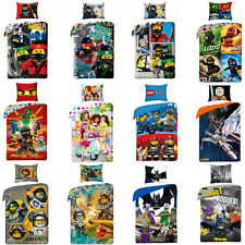 LEGO Ninjago City Super Heroes Nexo Knights Friends Star Wars Children Bedding