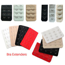 3X 2/3/4/5 Hooks Bra Extender Bra Elastic Band Extension Ladies Underwear Strap