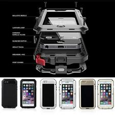 Heavy Duty Shock proof Waterproof Bumper Metal Cover Case FOR iPhone 7Samsung S7