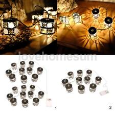 Battery Powered Light 10-20 LEDs Fairy String Light Home Party Warm White