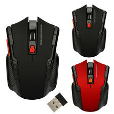2.4Ghz Mini Wireless Optical Gaming Mouse Mice USB Receiver For PC Laptop Gamers
