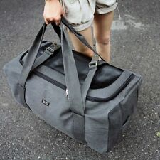Large Men's Womens Gym Duffle Bag Travel Luggage Tote  Suitcase Canvas Backpack