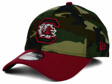 South Carolina Gamecocks Men's New Era 39THIRTY NCAA Woodland Camo Flex Hat Cap