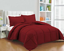 Super Soft Down Alternative Solid Comforter Set, Twin/Queen/King Size