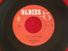 "The Beatles - Love Me Do / PS I Love You 7"" 45 Vinyl - Oldies 45 - OL 151 - Pop"