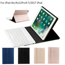 Wireless Bluetooth Keyboard + Leather Case For Apple iPad Air 2 / iPad Pro 9.7