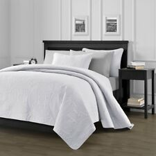 New Chezmoi Collection Oversized 3 PC King Bedspread Set, Austin