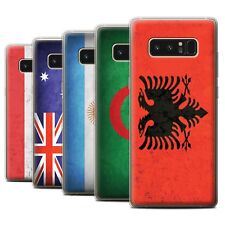 STUFF4 Gel/TPU Case/Cover for Samsung Galaxy Note 8/N950/Flags