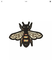 Bee / Fly (Sew on) Embroidery Applique Patch Sew Iron Badge