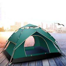 Single/Double Layer Camping Instant Tent Family Hiking Automatic Beach Shelter