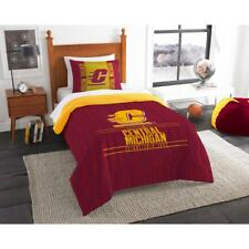 "NCAA Central Michigan Chippewas ""Modern Take"" Bedding Comforter Set"
