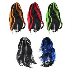 Fashion Long Straight Hair Wig Synthetic Wig Cosplay Party Fancy Dress Accessory