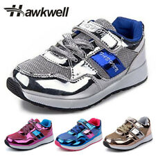 Hawkwell Girls and boys casual shoes breathable sneaker school students Shining