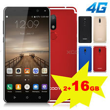 "XGODY 5.5"" Dual SIM 4G Smartphone 16GB Unlocked Android Cell Phone Quad Core GPS"