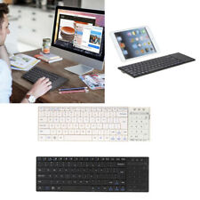 Lovoski Mini Wireless Bluetooth Keyboard w/ Touchpad for iOS Android Laptop