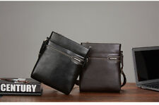 Messenger Cowhide Genuine Leather Bag Men Shoulder Satchel Vintage Crossbody