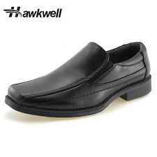 Hawkwell Kids School Uniform Dress Shoes Slip-On Oxford boys girls school shoes