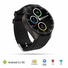 3G KW88 Android Smart Wrist Watch Phone Mate Bluetooth 4GB SIM WCDMA GPS WIFI