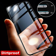 For iPhone X 8 5 6s 7 Plus 3D/4D/5D Tempered Glass Curved Full Screen Protector