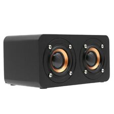 Wooden Wireless Bluetooth Speaker HIFI Dual Horns Stereo Subwoofer Speakers AX1