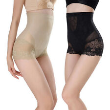 Womens High Waist Slimming Shaping Lace Panties Butt Lift Body Shaper Underwear