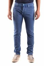 Jacob Cohen Men's Mcbi160076o Blue Cotton Jeans