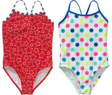 Op Girls One Piece Swimsuit Polka-Dots, Red Stars XS, Large, XL 4/5 10/12 14/16