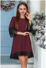 Women Summer New Fashion Lace Spring Casual Half Sleeved Vintage Dress