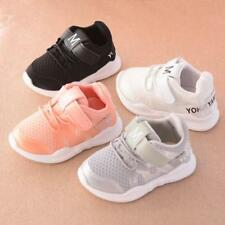 Boys Girls Spring Warm Casual Boots Non-Slip Laces Shoes Kids Baby Toddler Y1-6