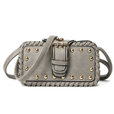 Lady Rivet Handbag PU Leather Small Shoulder Bag For Women Vintage Clutch Bag