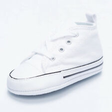 Converse Toddlers Chuck Taylor Crib Shoes in White